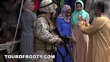 Американские солдаты бесплатно трахают беззащитных мусульманок